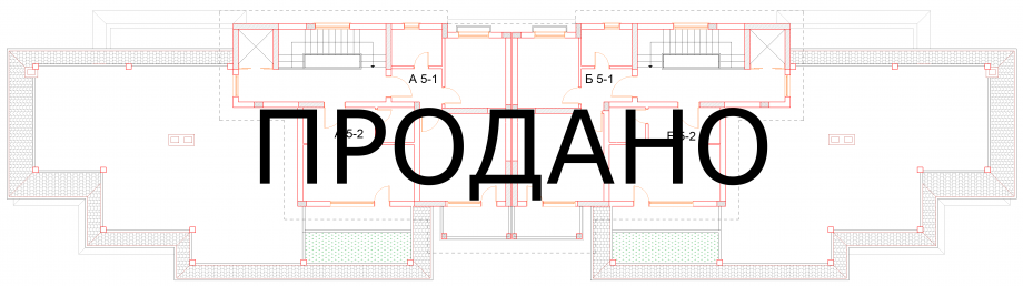 План пятого этажа комплекса Антик Палас