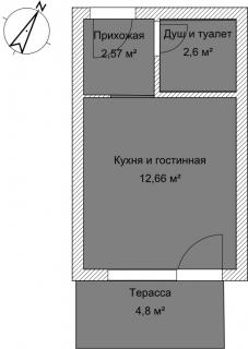 Студия А 3-2 План помещения AntiquePalace
