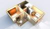 Апартаменты А 2-3 3D вид AntiquePalace