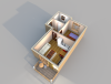 Апартаменты А 4-1 3D вид AntiquePalace