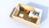Студия Б 4-4 3D вид AntiquePalace